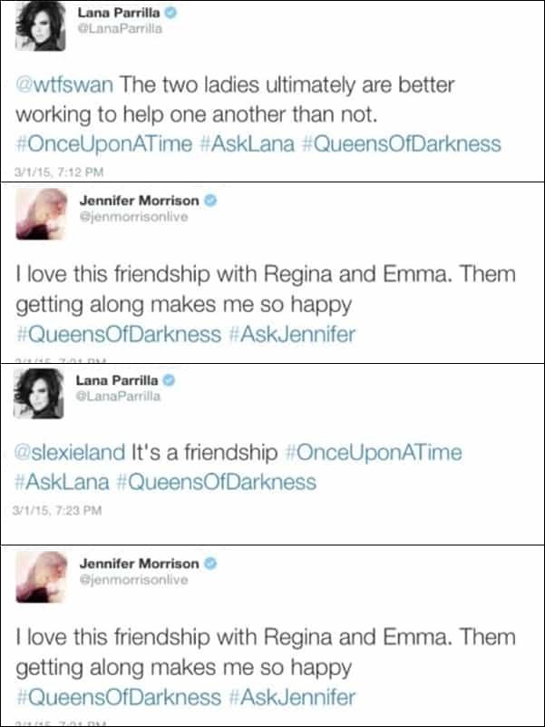imagen 5 tweets Lana and JMo